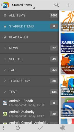 gReader (Google Reader  RSS)-1