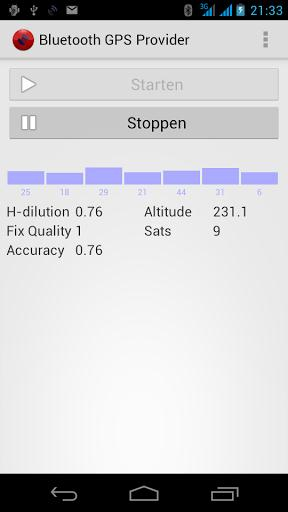 Bluetooth GPS Provider-1