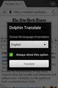 Dolphin Translate Addon