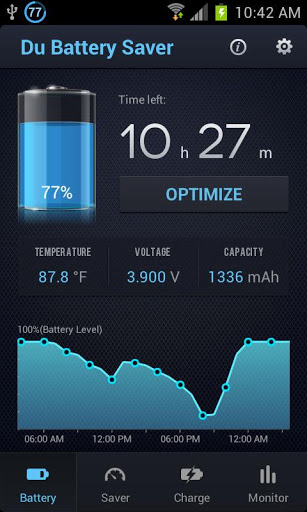 Du Battery Saver&Switch Widget