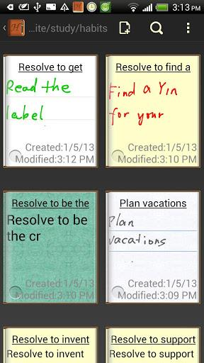 Handrite note Notepad Lite-2