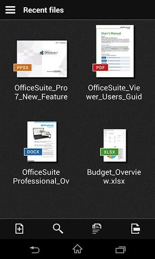 OfficeSuite Viewer 7