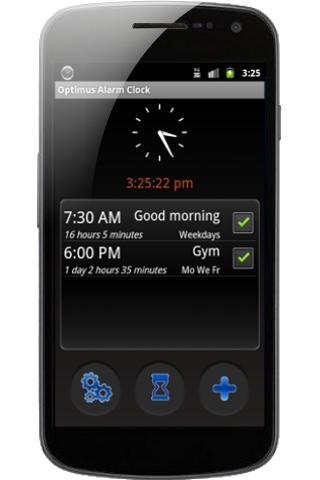 Optimus Alarm Clock-1