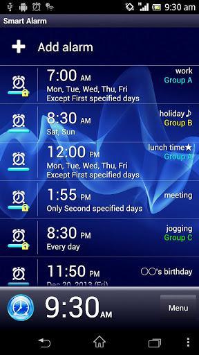 Smart Alarm Free (Alarm Clock)-1