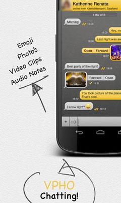VPHO Free Calls, Video & Text
