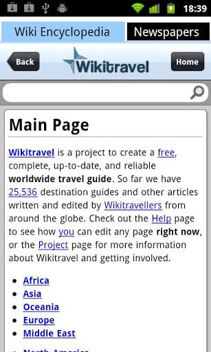 Wiki Encyclopedia