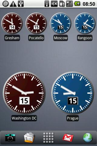 World Clock Widget-2
