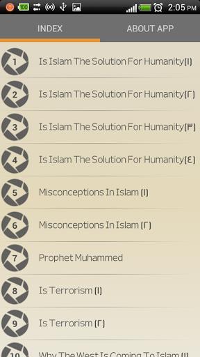 Zakir Naik - MP3 Lectures-1