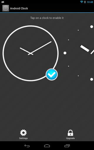 Android Clock Widget-1