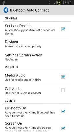 Bluetooth Auto Connect