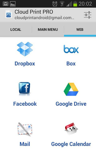 Cloud Print App-2