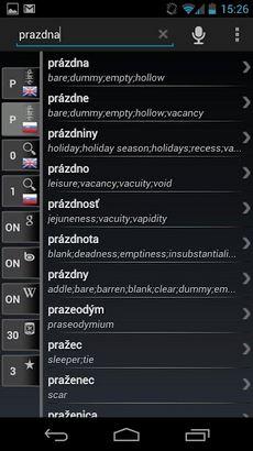 Dictionary Slovak English Free-1
