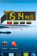 Evangelion Clock Widget