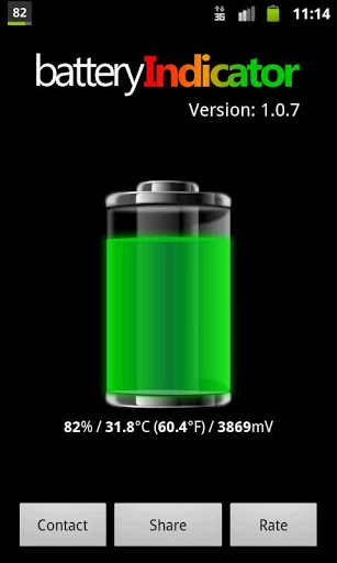Free Battery Indicator