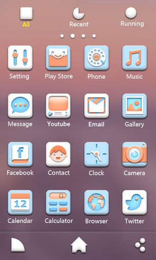 Soft GO Launcher EX Theme-2
