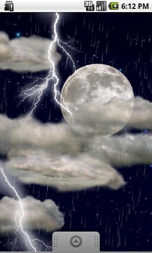 The real thunderstorm - LWP