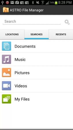 ASTRO Cloud & File Manager-2