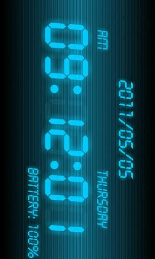 Battery Clock-2