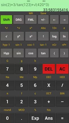 Kal Scientific Calculator