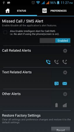 Missed Call - SMS Alert-2