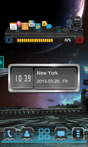 Next Clock Widget