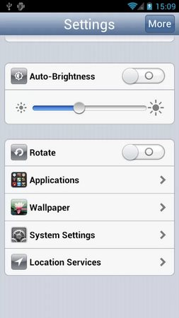 Settings - iPhone Style-2