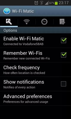 Wi-Fi Matic – Auto WiFi On Off
