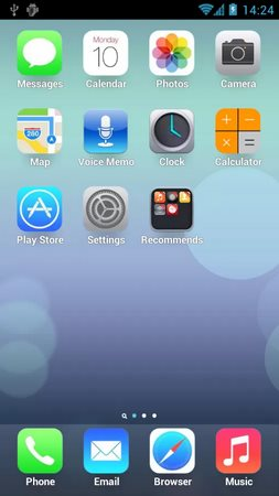 iOS 7 Theme for Hi Launcher