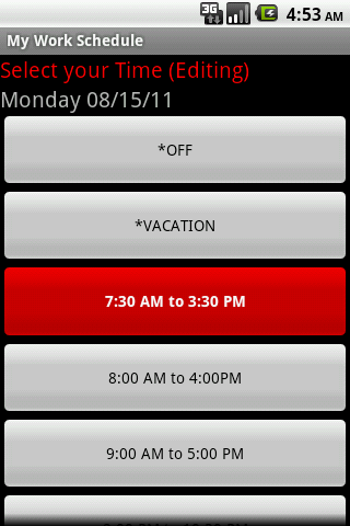 My Work Schedule-1