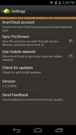 AcerCloud Portal-2
