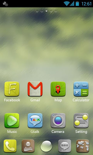 H-Droplet GO Launcher Theme-1