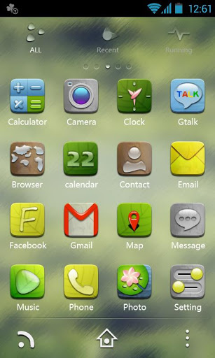 H-Droplet GO Launcher Theme-2
