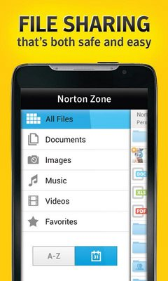 Norton Zone cloud sharing-1