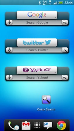 Quick Search Widget Free