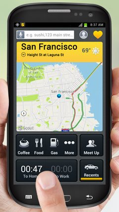 Scout GPS Navigation & Traffic