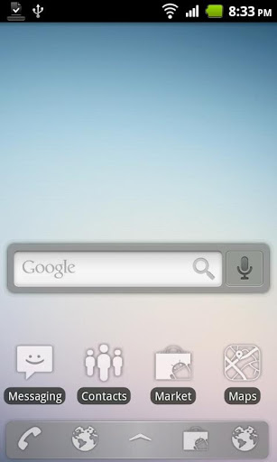 Sense Glass ADW Theme-1
