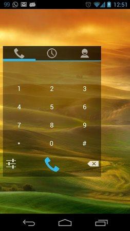Simple Dialer Widget-1