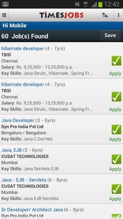 TimesJobs Job Search-2