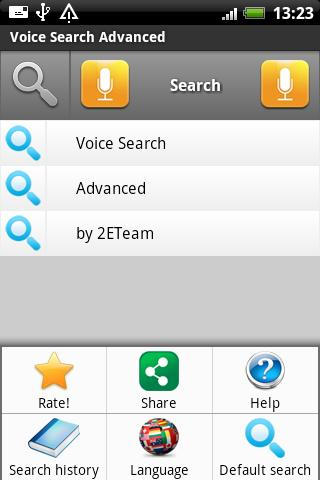 Voice Search Advanced