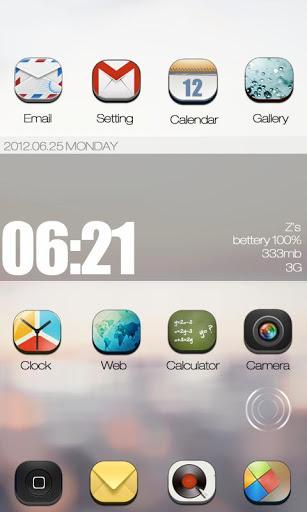 ZANYWAY GO Launcher Theme
