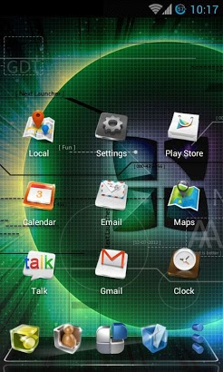 Classic Next Launcher 3D Theme-2