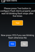 Flash Alerts on Call