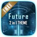 Future Next Launcher 3D Theme