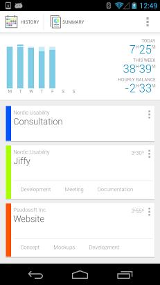 Jiffy - Time tracker-2