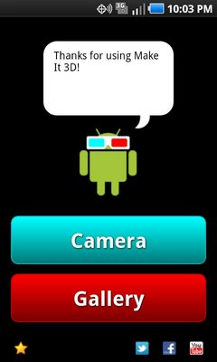Make It 3D Free – 3D Camera