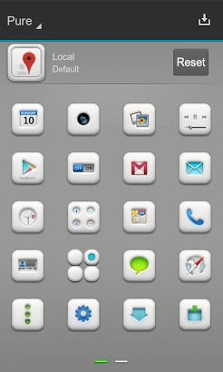 Pure Next Launcher 3D Theme-2