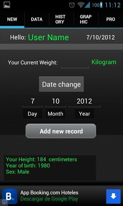Weight Recorder BMI free-1