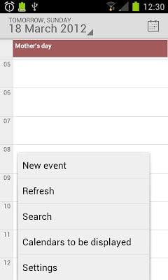 Android 4.1 Jellybean Calendar-2