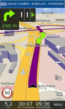 GPS Navigation BE-ON-ROAD-1