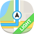 GPS Navigation & Maps – light